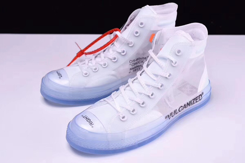 OFF WHITE x Converse Chuck Taylor All Star 「GHOSTING(透视)」 图片1
