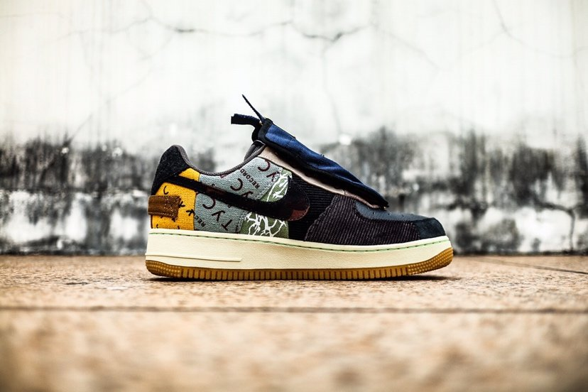 Nike Travis Scott x Nike Air Force 1 TS YY空军一号低帮运动板鞋